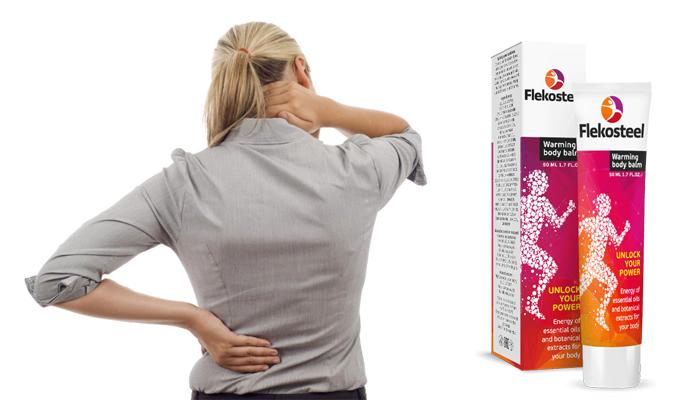 Flekosteel za zglobove: brzo ublažava bol uzrokovanu artrozom i osteohondrozom