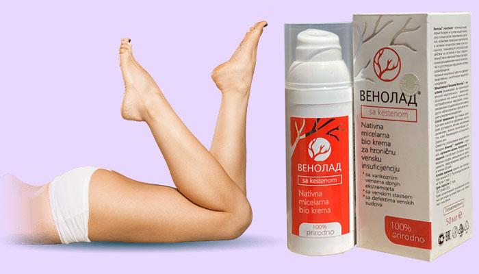 Venolad protiv proširenih vena: zdrave i lepe noge