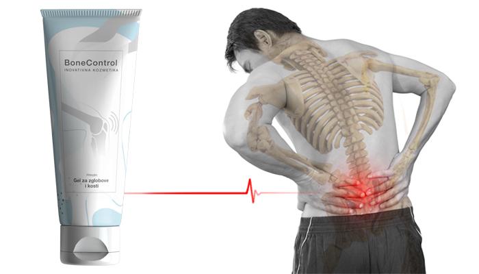 BoneControl za zglobove: jedinstven lijek za liječenje oboljenja zglobova i kičme sa veoma visokom učinkovitosti