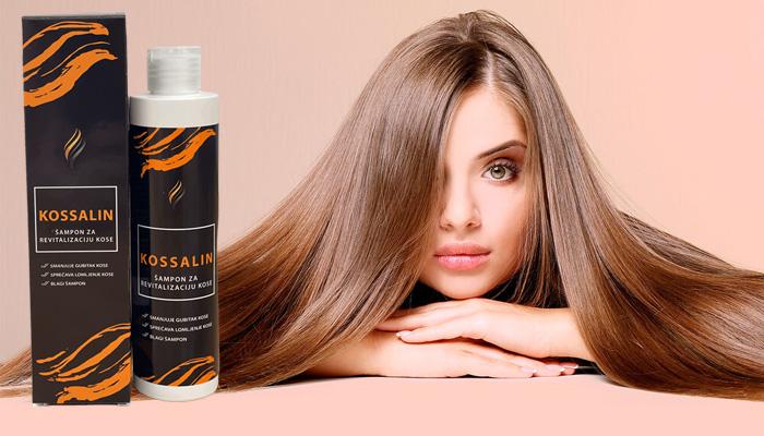 Kossalin za rast kose: jaka kosa od korijena do vrhova