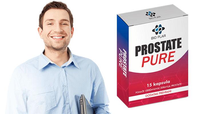 Prostate Pure protiv prostatitisa: profesionalno lečenje prostatitisa